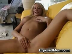 Boobies sexy milf plays...
